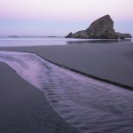 Meyer's Creek, Pacific Ocean, Oregon