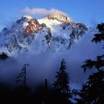 Mt. Shuksan, evening light