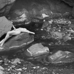 Nude, Onion Creek Canyon,  Utah