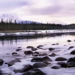 Spring Breakup, Athabasca River, Alberta
