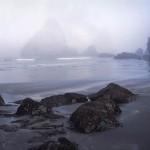 Dawn, Fog, Trinidad Beach, California