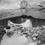 Nude, West Coyote Creek, Utah
