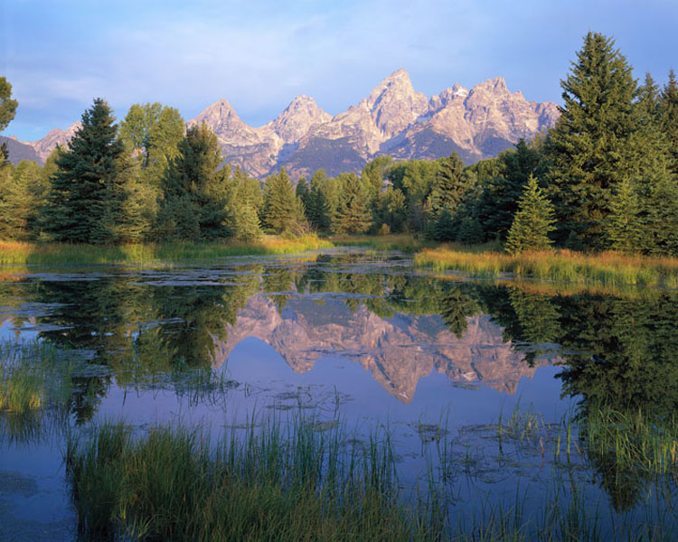 Tetons, Sunrise, Wyoming