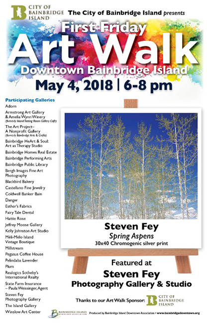 May 2018 Winslow Art Walk